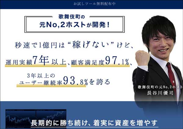 長谷川優司のユニコーンシステムFX自動売買システムは真面目な本物か?危険な理由を曝露 レビュー