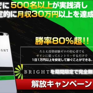 藤堂エリカと清水聖子のBright「パーフェクトバイナリーサロン」が信用できない理由
